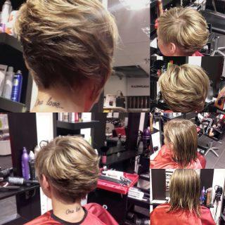 Bob hair style by arfrisörcentrum